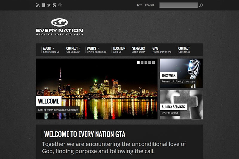Every Nation GTA Website