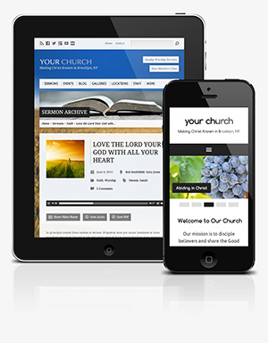 Mobile Church Websites