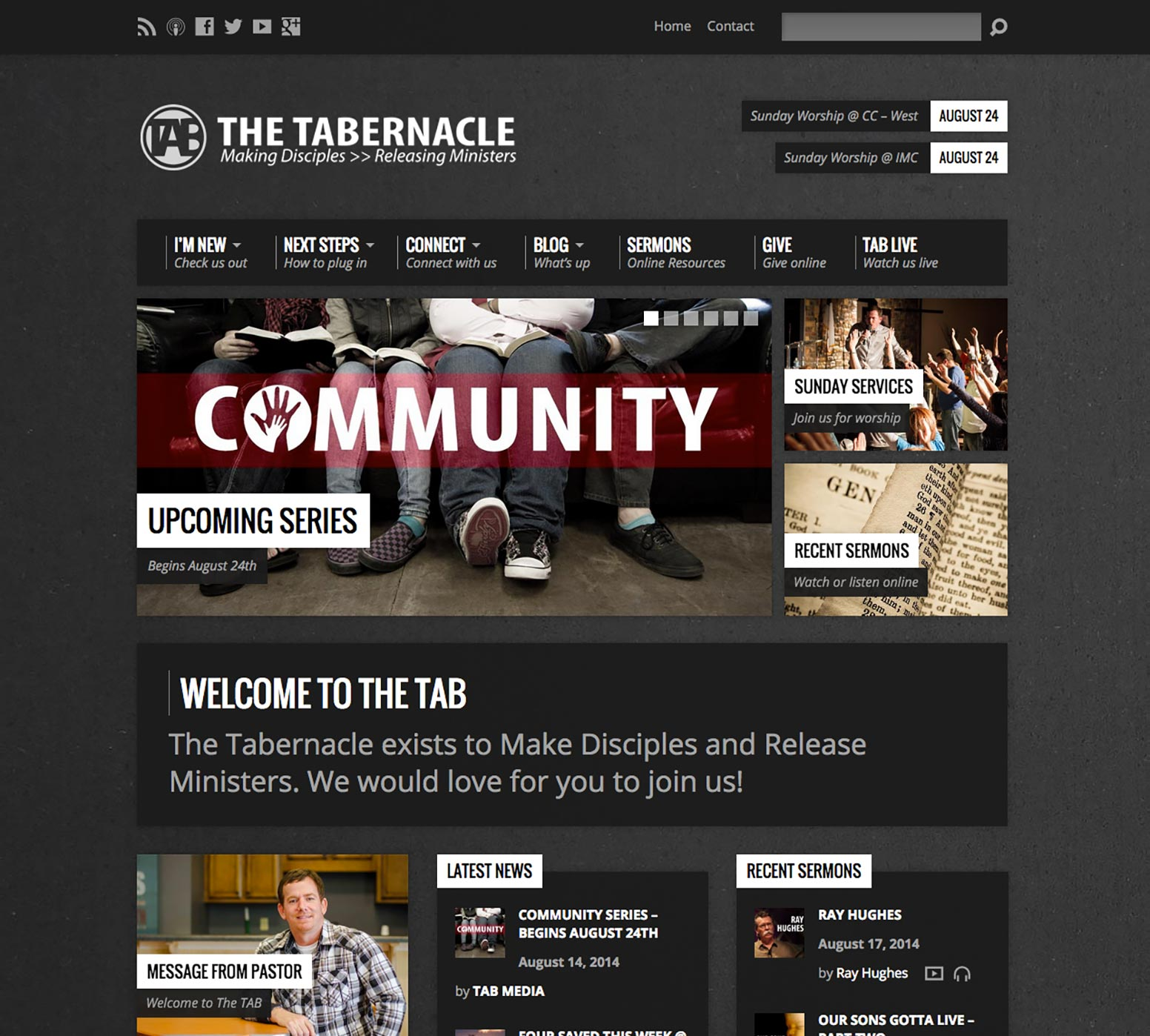The Tabernacle Website