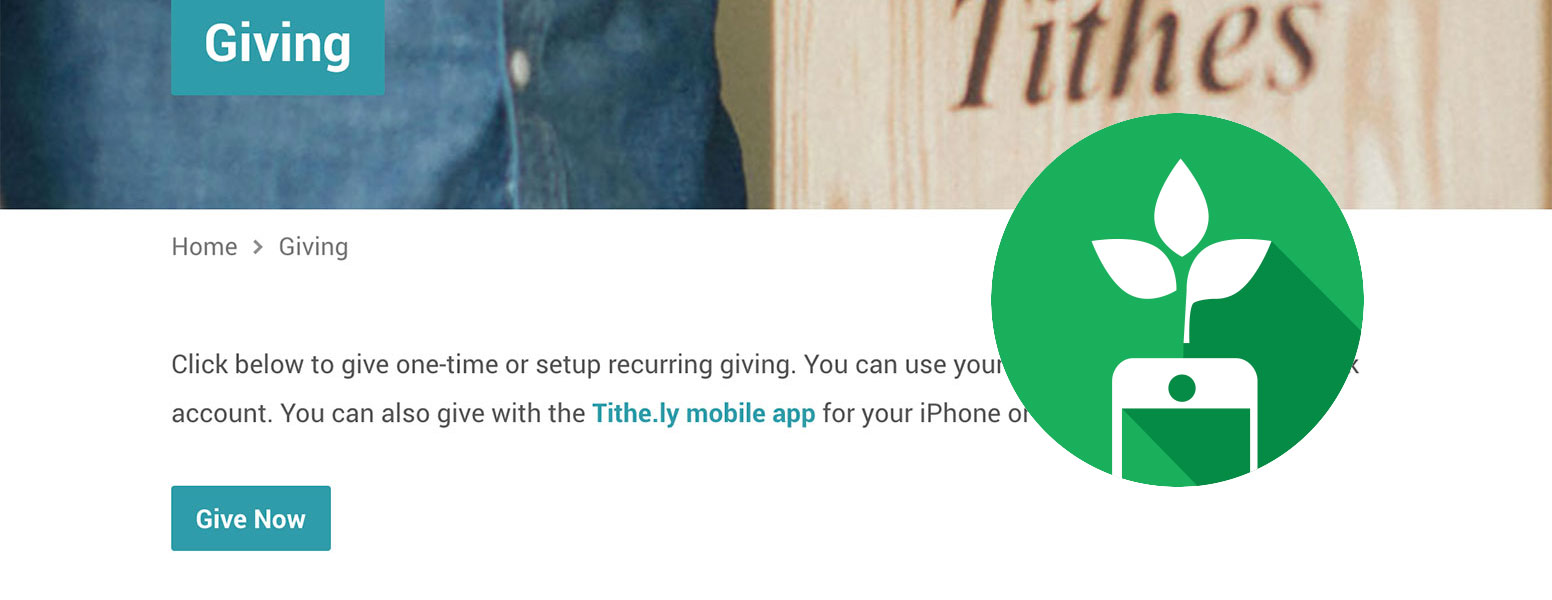 Tithe.ly Giving with WordPress