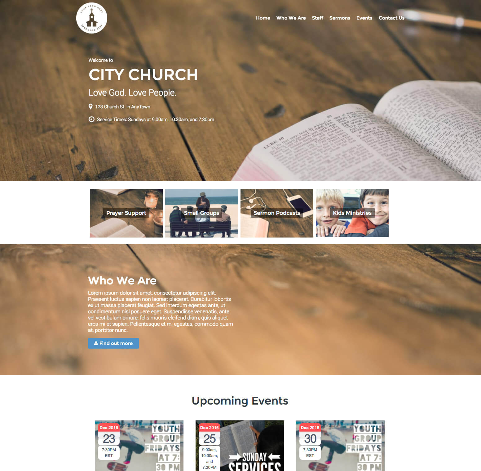 Restore Church WordPress Theme and Plugin Bundle