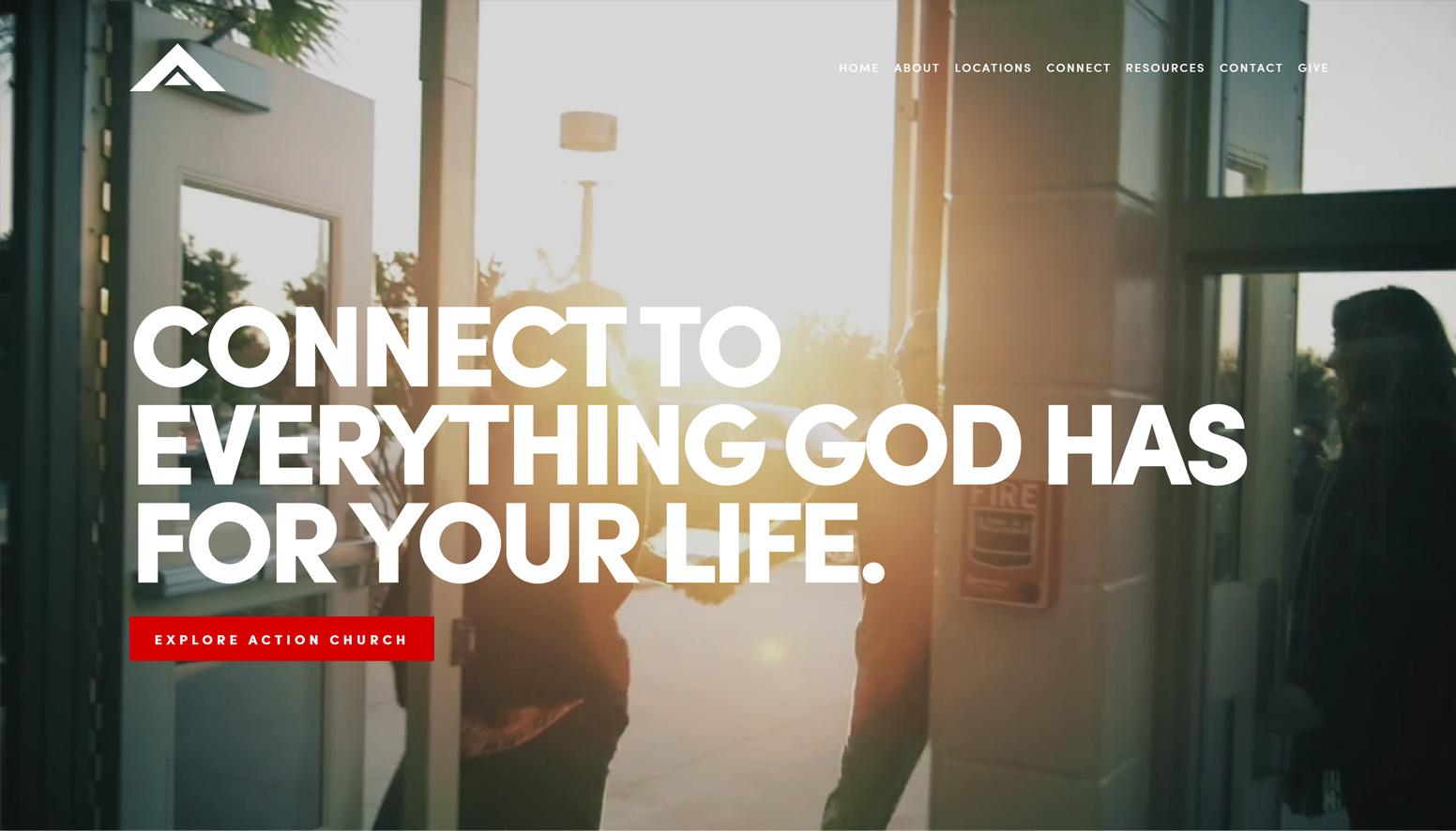 Action Church Website
