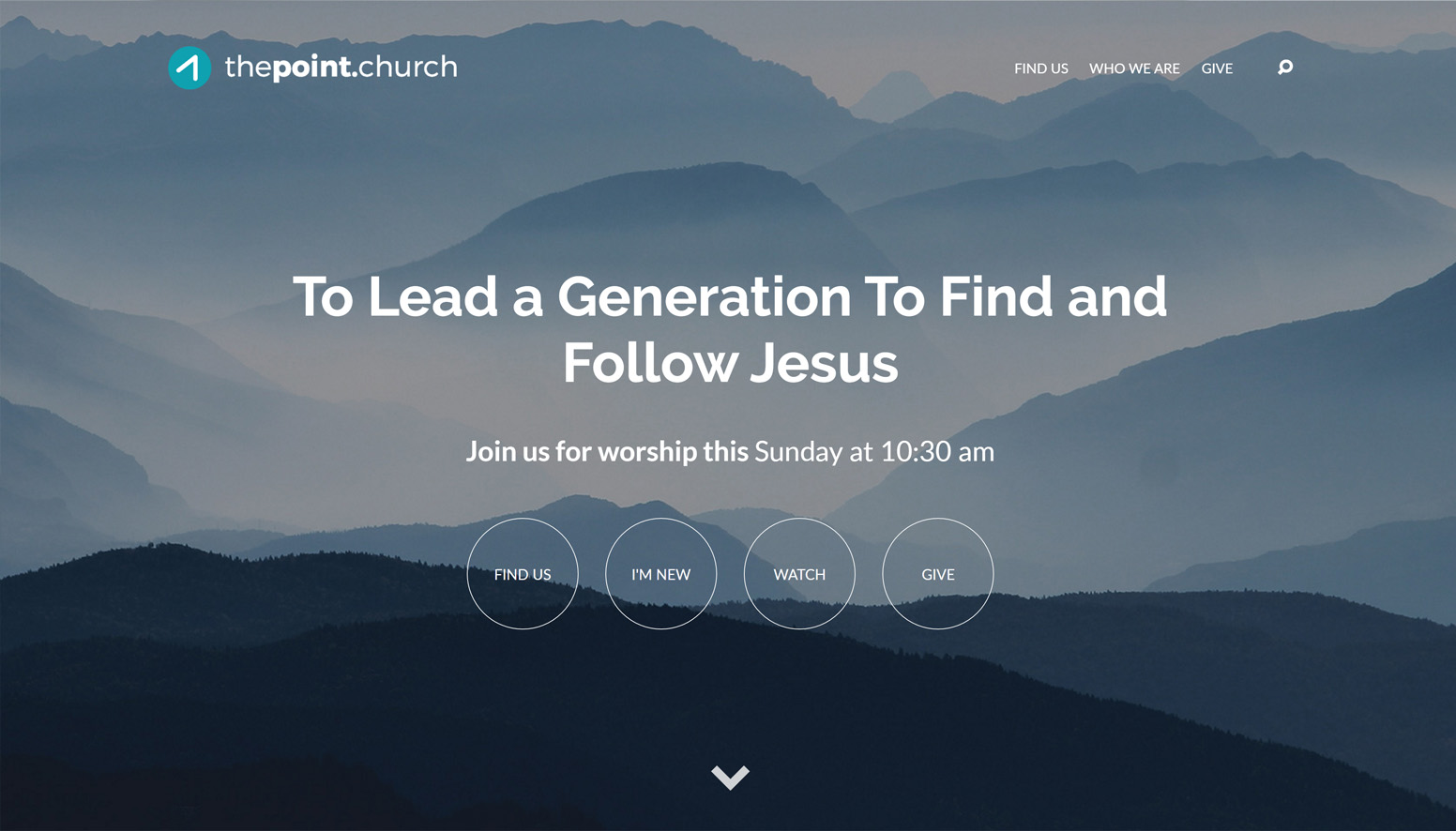 The Point Church Website