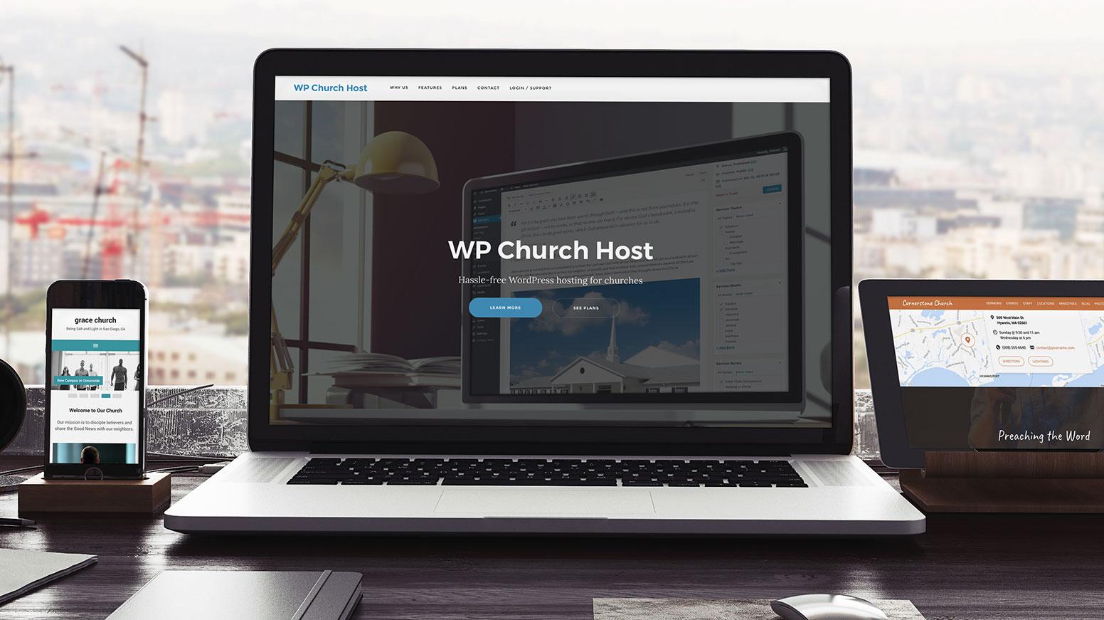 WP Church Host Desk