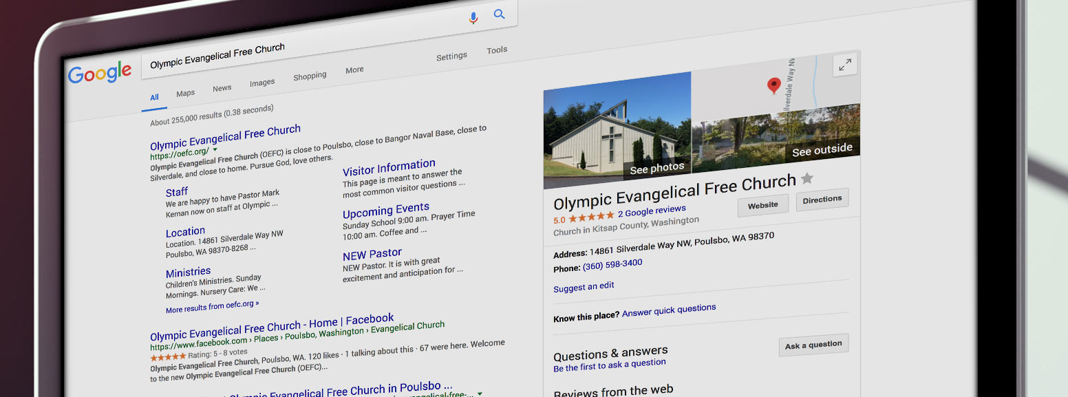 Church on Google My Business