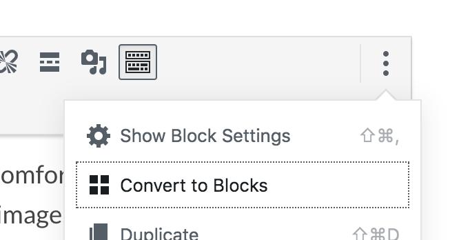 Convert Blocks