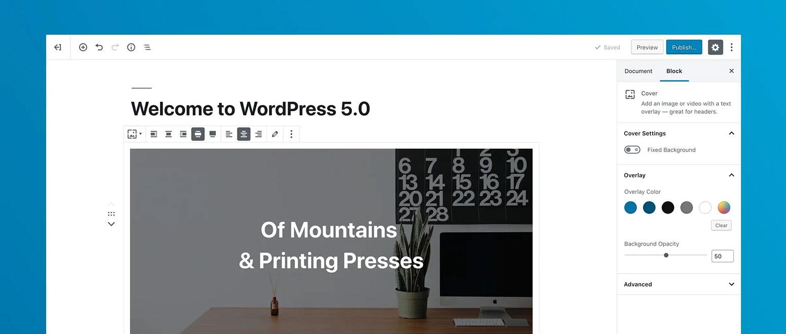 怎么使用 wordpress 5.0 +版本的 gutenberg 编辑器