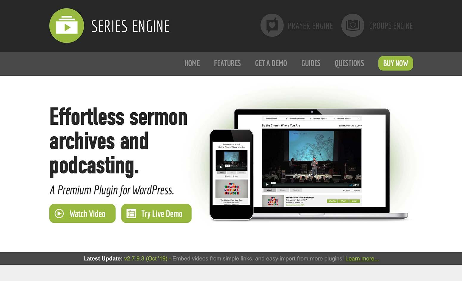 Series Engine WordPress Plugin